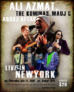 Live in New York, Thursday 22nd July