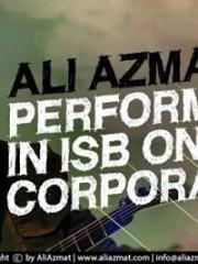 Ali azmat Performing in Isb , Corporate event