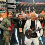 Ali Azmat with Friends at PSL 2017 Closing Ceremony.